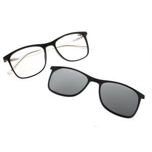 a757ae976 Armação para Óculos de Grau Chilli Beans Unissex Bicolor Clip On Preto 0186  - LV.MU.0186.0001 M