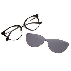 0e0433524 Armação para Óculos de Grau Multi Clip on Lady Like Pérolas Preto 0225 -  LV.MU.0225.0401 M