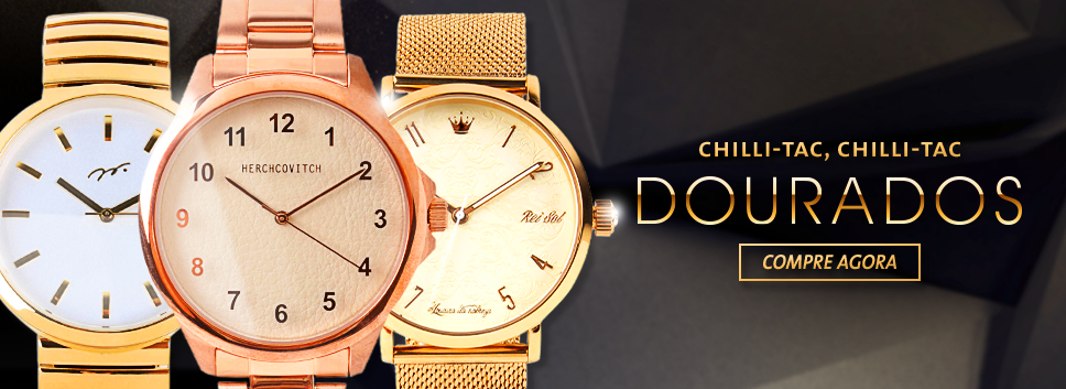 Relógios Dourados