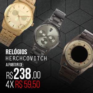 RELÓGIOS HERCHCOVITCH