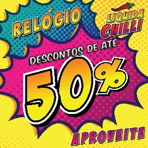 RELÓGIO ATÉ 50%