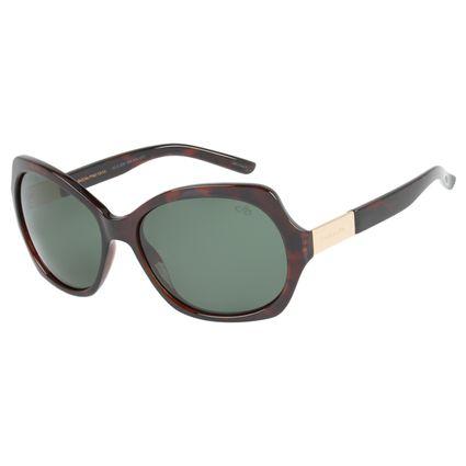 Óculos de Sol Chilli Beans Feminino Quadrado Tartaruga Polarizado 1506 32d8edaafd