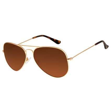 345a3a95b03a1 Óculos de Sol Unissex Chilli Beans Preto 2416