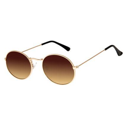 ebb4df745608a Óculos de Sol Unissex Chilli Beans Dourado 2594