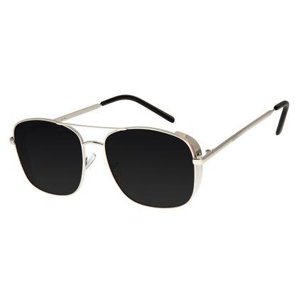 ee6fd02037d4a Óculos de Sol Feminino Chilli Beans Prata 2595