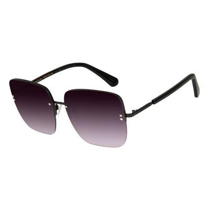 77fdade303261 Óculos de Sol Feminino Chilli Beans Preto 2559