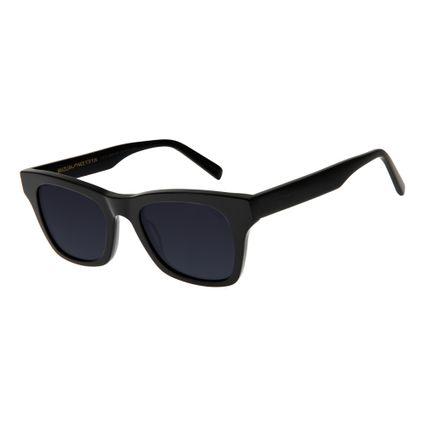 86a6708e3d0b9 Óculos de Sol Unissex Chilli Beans Preto 2649