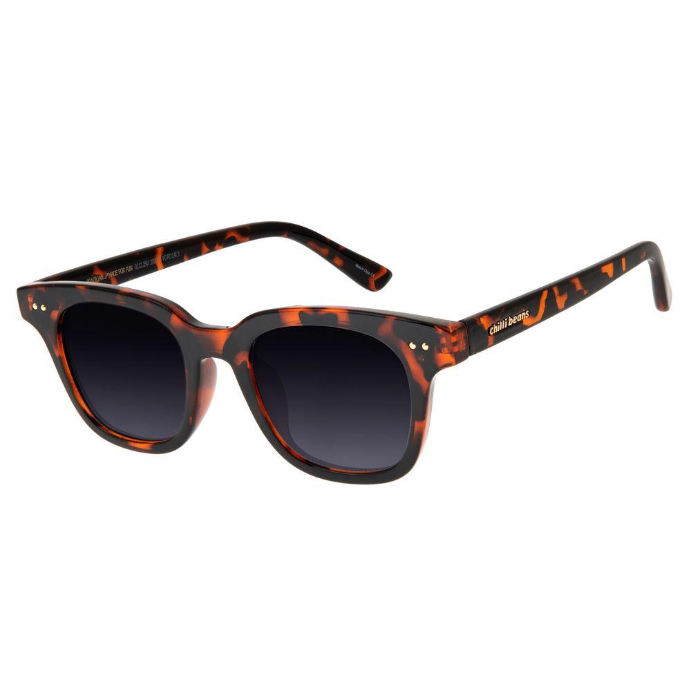 94f38d0d863dc Óculos de Sol Feminino Chilli Beans Tartaruga 2541 - OC.CL.2541.2006 P
