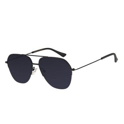 e4ccf9b5a Óculos de Sol Chilli Beans Masculino Aviador Preto Fosco 2599