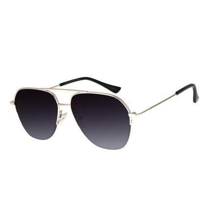 58fa4251b Óculos de Sol Chilli Beans Masculino Aviador Degradê Prata 2599