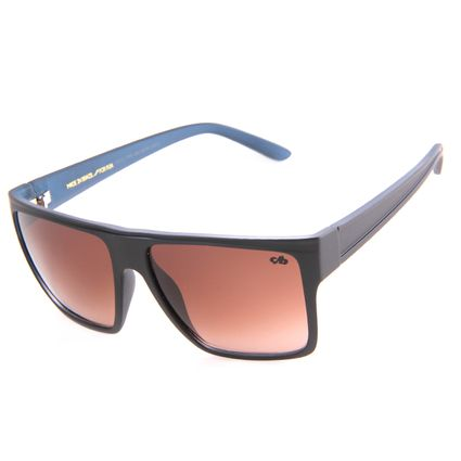 Óculos De Sol Unissex Chilli Beans Quadrado Marrom Escuro OC.CL.1058-0247.2