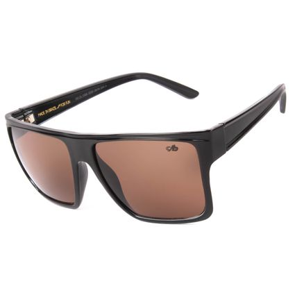 Óculos de Sol Unissex Chilli Beans Quadrado Essential Preto OC.CL.1058-0230.2