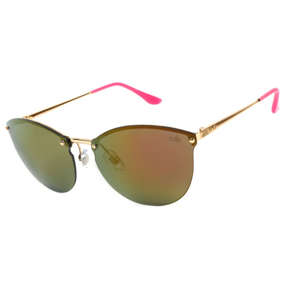Óculos de Sol Feminino Chilli Beans Redondo Dourado OC.MT.2052-2121.2