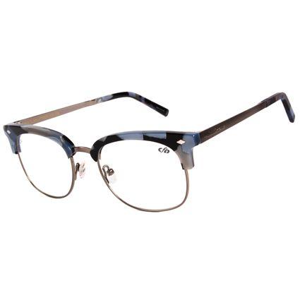 Armação Para Óculos de Grau Feminino Chilli Beans Jazz Cinza LV.AC.0307-0104