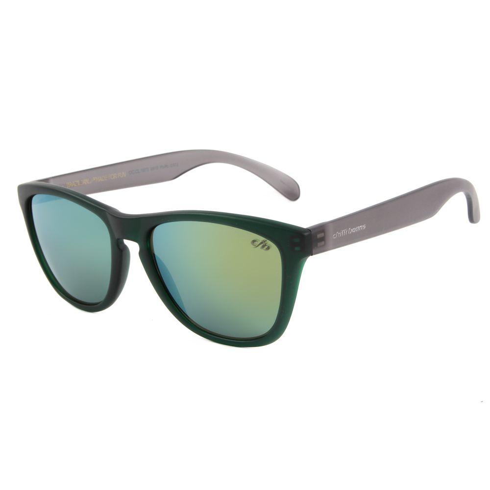 Óculos De Sol Unissex Chilli Beans Quadrado 90'S Verde OC.CL.1973-0915