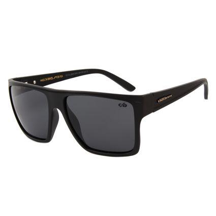 Óculos de Sol Unissex Chilli Beans Essential Quadrado Preto Polarizado OC.CL.2203-0401