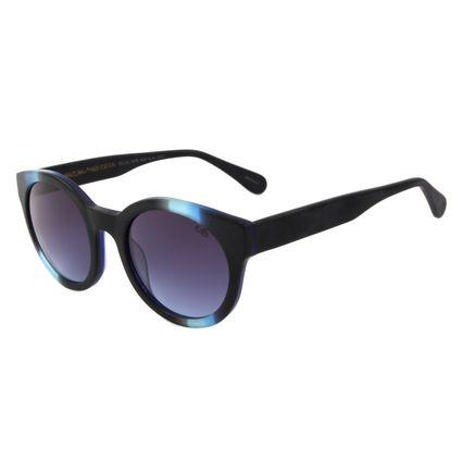 Óculos de Sol Feminino Chilli Beans Ah Redondo Azul OC.CL.1878-0808