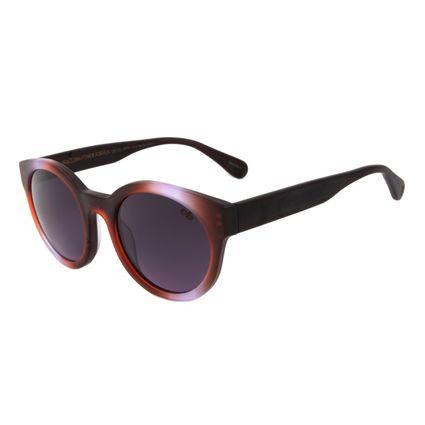 Óculos de Sol Feminino Chilli Beans Ah Redondo Rosa OC.CL.1878-1413