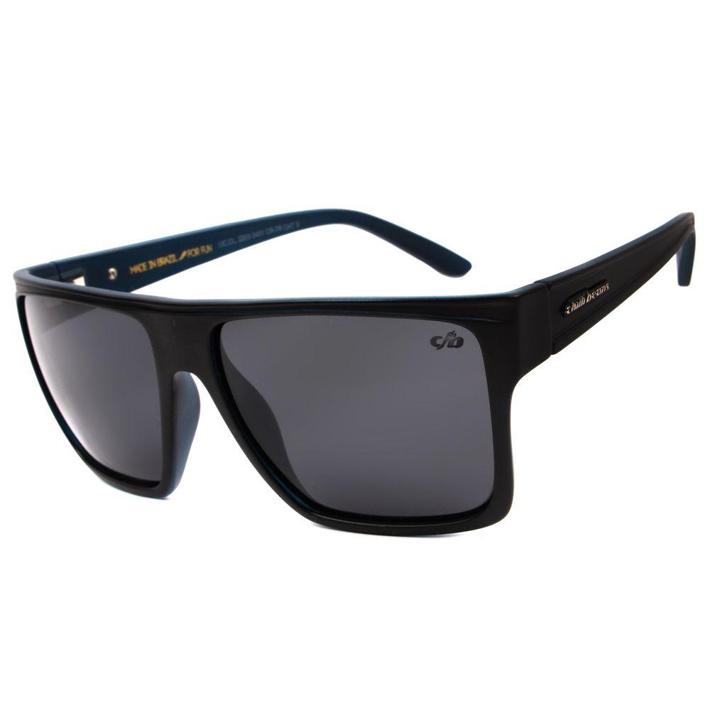 Óculos de Sol Unissex Chilli Beans Quadrado Fosco Polarizado Essential OC.CL.2203-0431