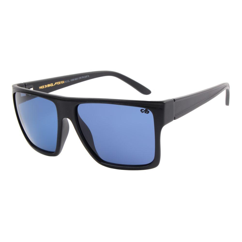 Óculos de Sol Unissex Chilli Beans Essential Quadrado Azul Escuro    OC.CL.1058-9001