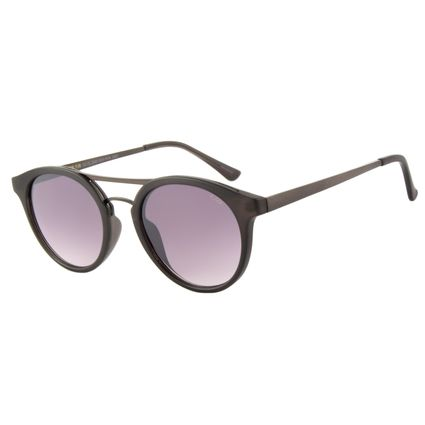 Óculos de Sol Unissex Chilli Beans Redondo Fosco OC.CL.2243-2031