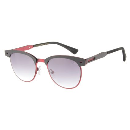 Óculos de Sol Unissex Emicida Jazz Vermelho OC.MT.2384-2016