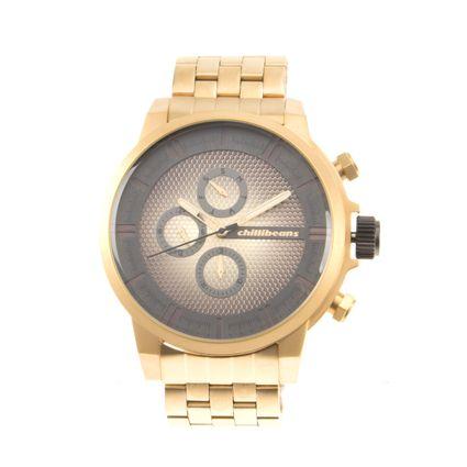 Relógio Masculino Chilli Beans Metal Dourado RE.MT.0571-0421