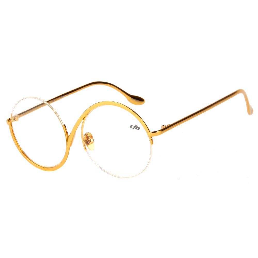 Armação Para Óculos De Grau Unissex Chilli Beans Passarela Ah Dourado LV.MT.0072-2121.2