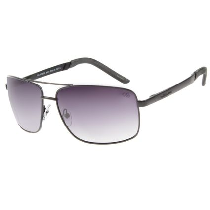 Óculos de Sol Masculino Executivo Polarizado Degradê Preto OC.MT.2339-2001