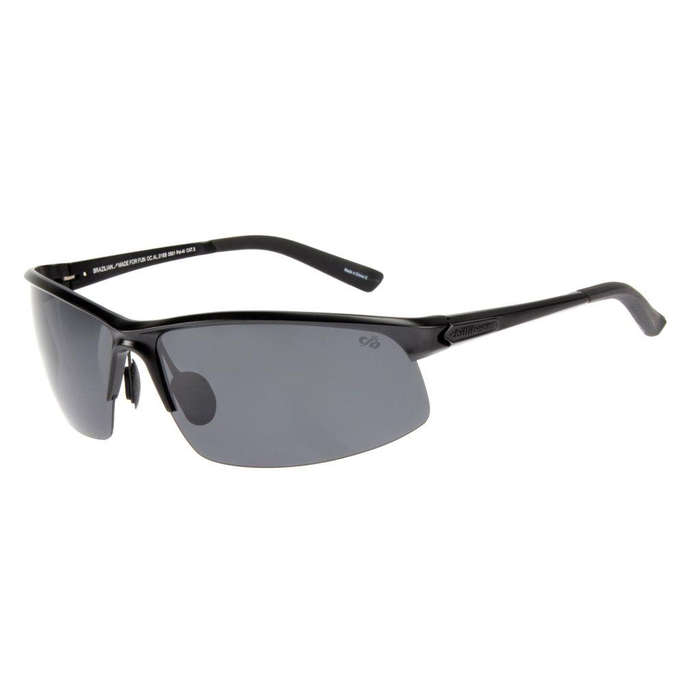 Óculos de Sol Masculino Chilli Beans Flutuante Preto Polarizado OC.AL.0169-0501