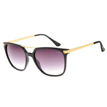 Óculos de Sol Feminino Chilli Beans Quadrado Preto OC.CL.2206-0501