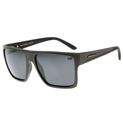 Óculos de Sol Unissex Chilli Beans Quadrado Verde Polarizado Essential OC.CL.2203-0434