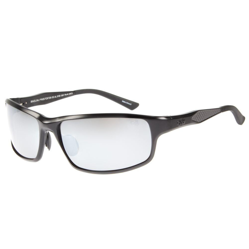 Óculos de Sol Masculino Chilli Beans Esportivo Espelhado Polarizado OC.AL.0183-3201
