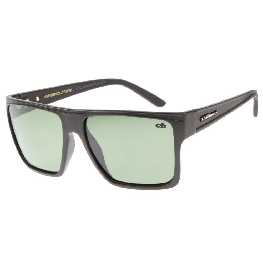 Óculos de Sol Unissex Chilli Beans Escuro Polarizado Essential OC.CL.2203-3438