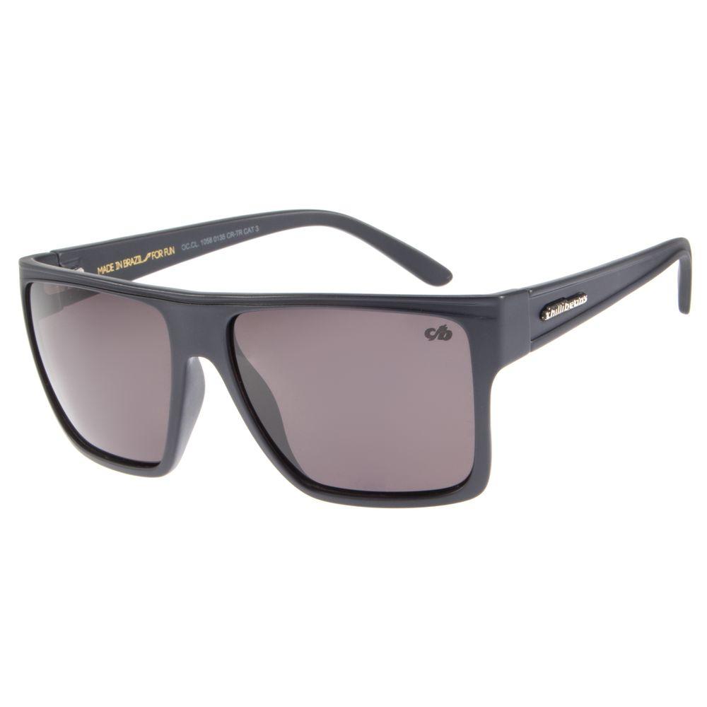 Óculos de Sol Unissex Chilli Beans Essential Quadrado Azul Marinho OC.CL.1058-0135