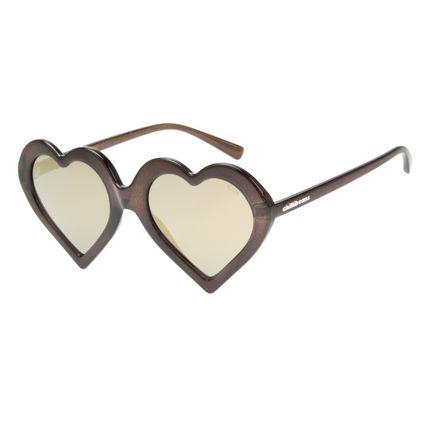 Óculos de Sol Feminino Chilli Beans Carnaval Love Fashion Preto OC.CL.2446-2101