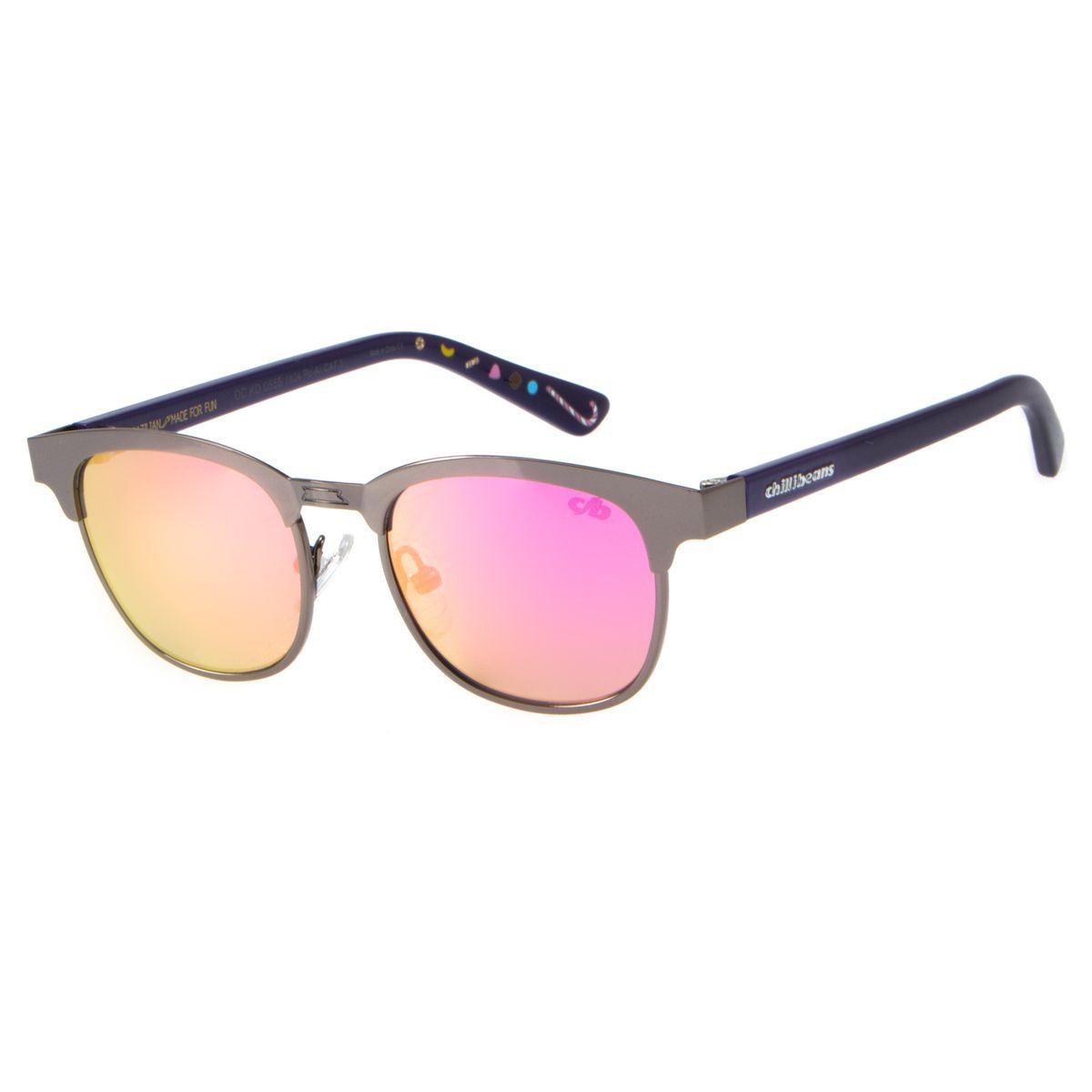 a34cf2dcd Oculos De Sol Infantil Feminino Chilli Beans