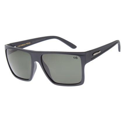 Óculos de Sol Unissex Chilli Beans Essential Quadrado Verde Escuro OC.CL.1058-2690