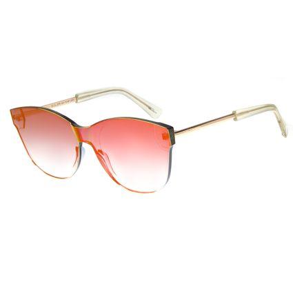 Óculos de Sol Feminino Block Dourado 2278 f0d397fe35
