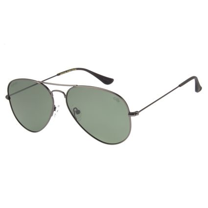 Óculos de Sol Unissex Chilli Beans Aviador Grafite Polarizado OC.MT.2419-1524