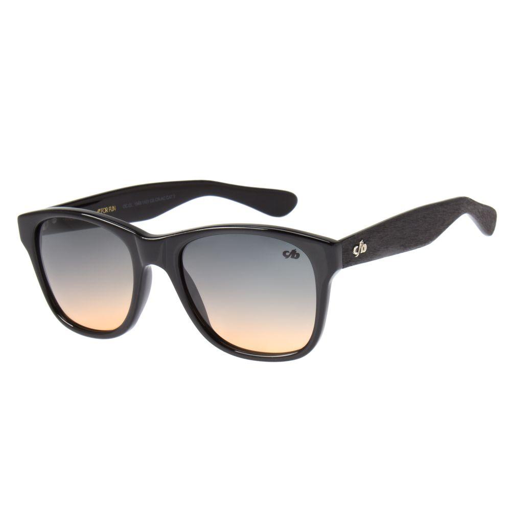 51f16f95b7c7e Óculos de Sol Unissex Chilli Beans Preto 1549 - OC.CL.1549.1101.  OC.CL.1549.1101