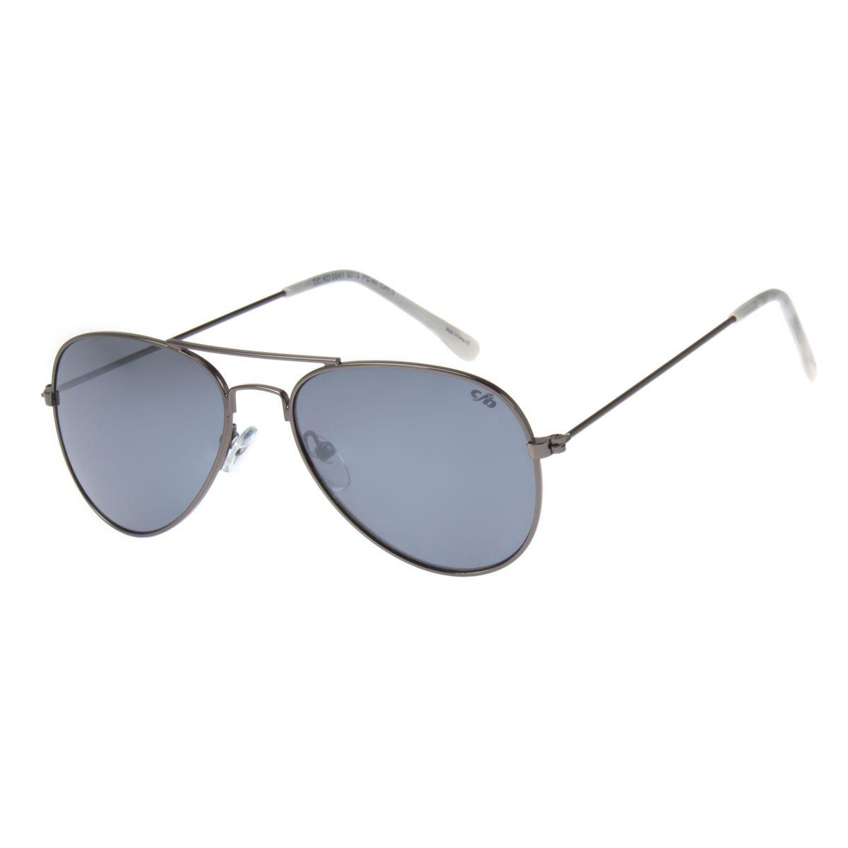 3561c283e3029 Óculos de Sol Aviador Infantil Chilli Beans Verde 0541 - Chilli Beans