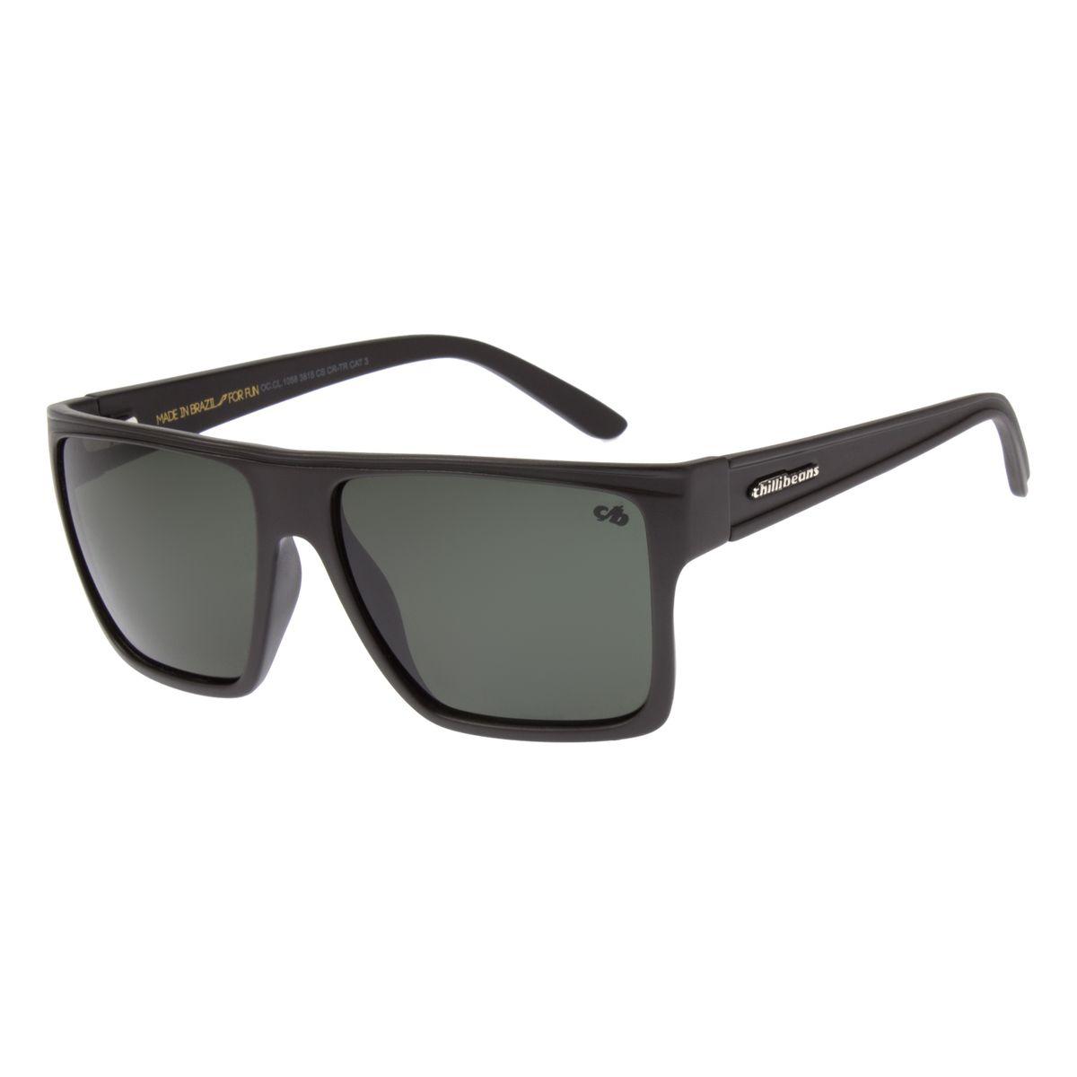 9a422e99c Óculos de Sol Unissex Chilli Beans Verde 1058 - Chilli Beans
