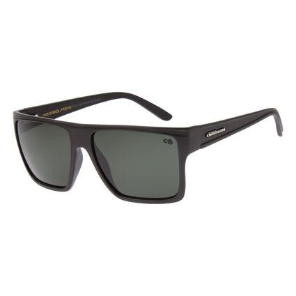 Óculos de Sol Unissex Chilli Beans Essential Quadrado Escuro Verde OC.CL.1058-3815
