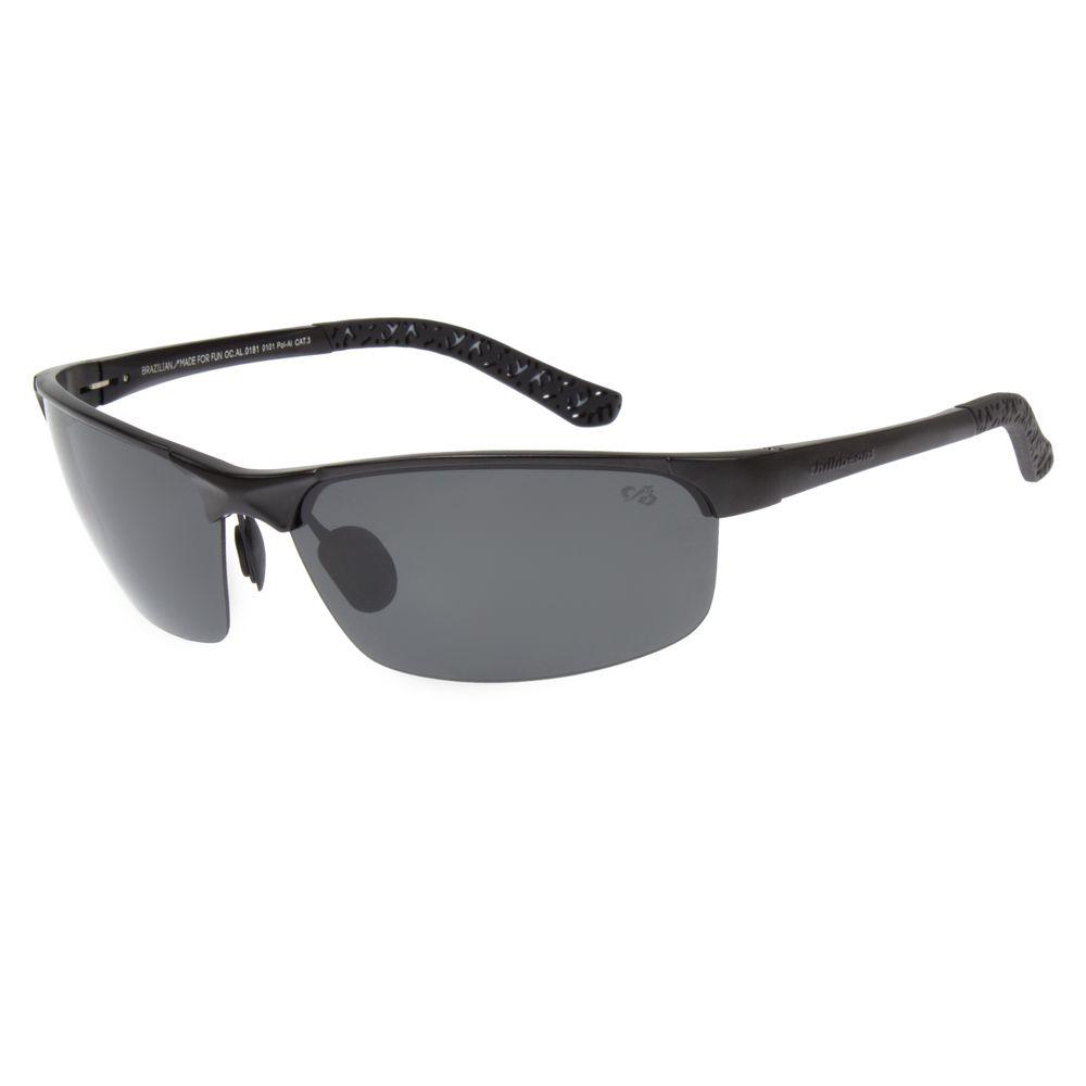 Óculos de Sol Masculino Esportivo Chilli Beans Preto 0181 ... 8eba698267