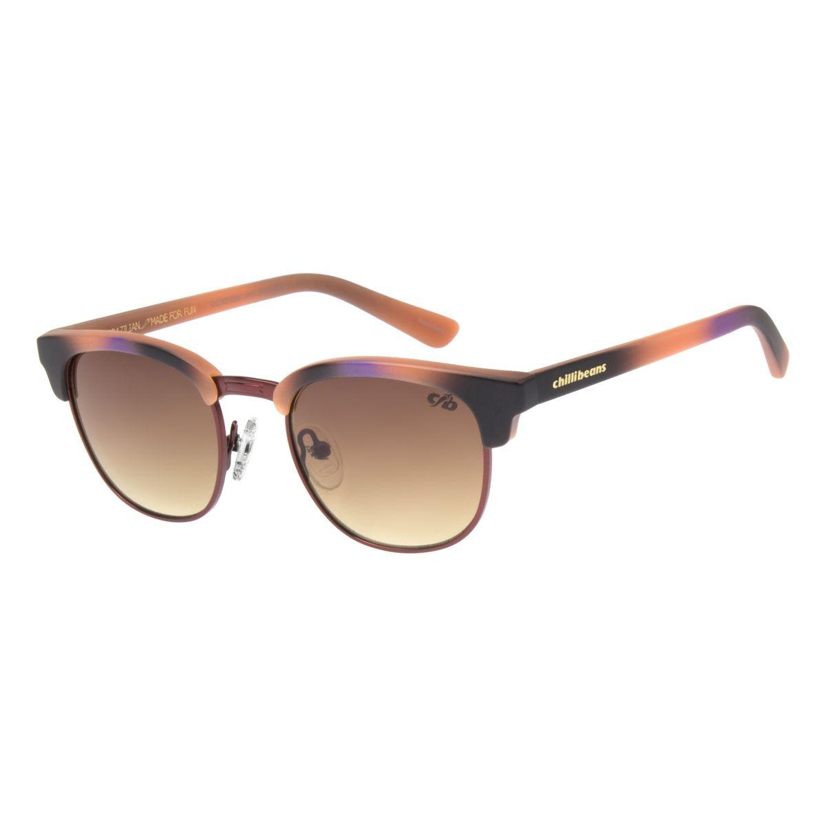 f5eee2e2c Óculos de Sol Infantil Chilli Beans Vinho 0550 - Chilli Beans