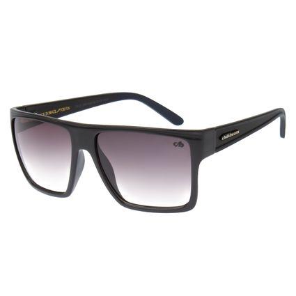 Óculos de Sol Unissex Essential Chilli Beans Quadrado Cinza Escuro OC.CL.1058-3128