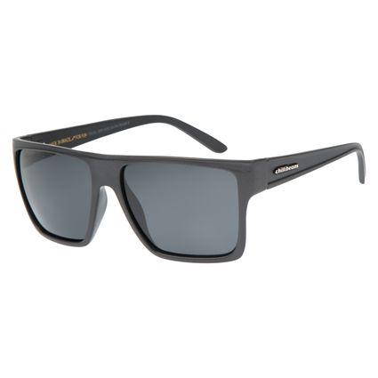 Óculos de Sol Unissex Chilli Beans Cinza Polarizado Essential OC.CL.2203-0428