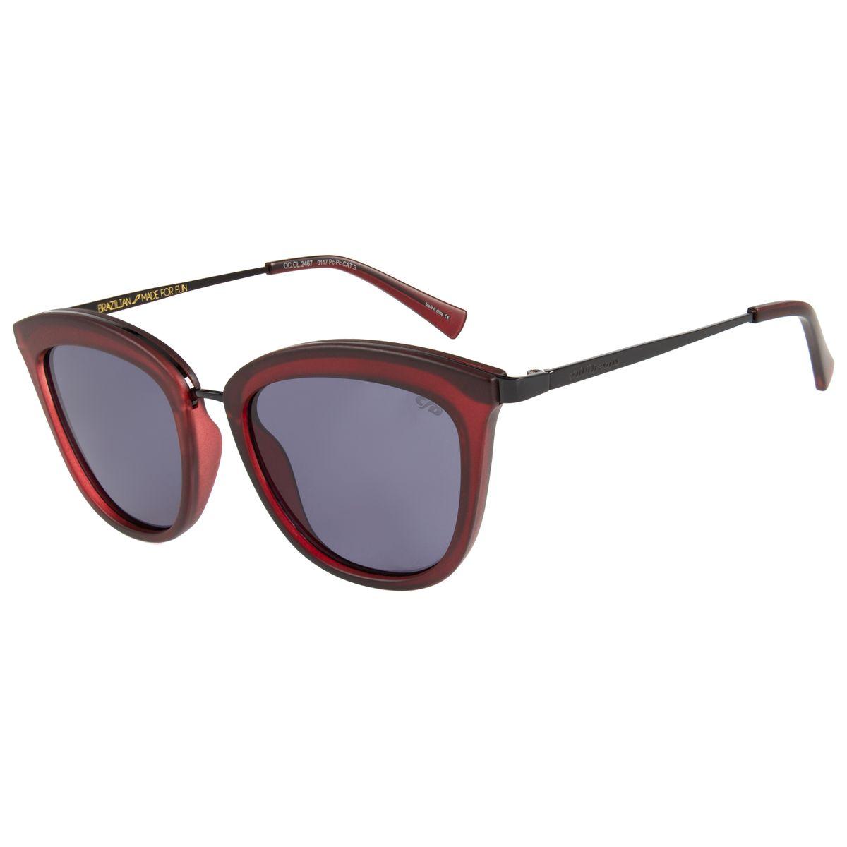 969bc1a45 Óculos de Sol Feminino Chilli Beans Vinho 2467 - OC.CL.2467.0117 M. REF:  OC.CL.2467.0117. OC.