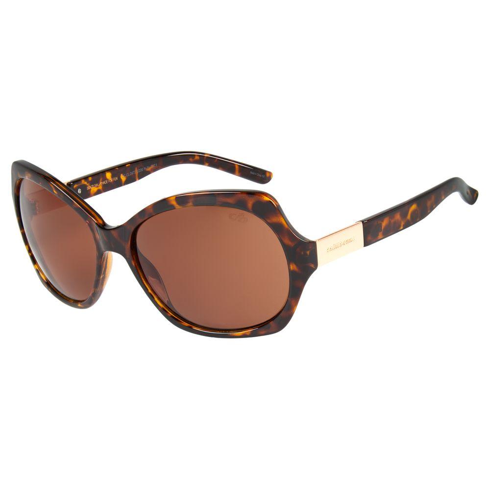 Óculos de Sol Feminino Chilli Beans Quadrado Tartaruga OC.CL.2472-0206